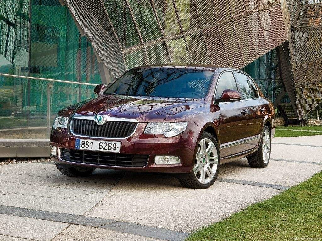 Latest View Of Skoda Superb Wallpaper Hd Car Wallpapers Free Download