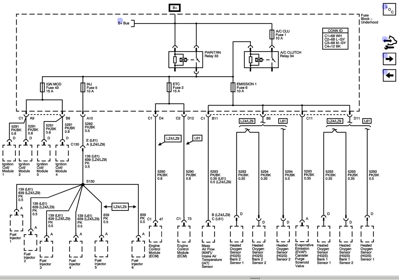 Automotive Wiring Diagram Chevy Malibu Autozone