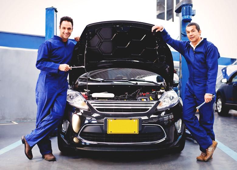 автомобилю требуется ремонт
