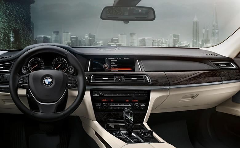 шикарный салон BMW