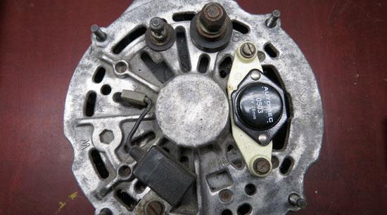 Defective car alternator wont recharge battery