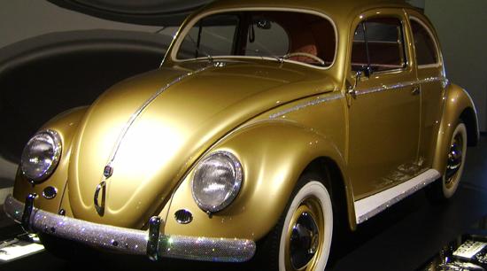 One millionth Volkswagen Beetle 1955