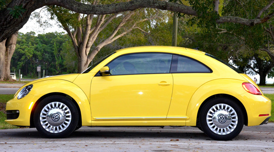 Volkswagen Beetle updated model