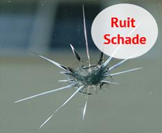 Ruit schade Autobedrijf D. Smit Zaandam