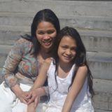 Rowena Dapang en haar Dochter Jeed