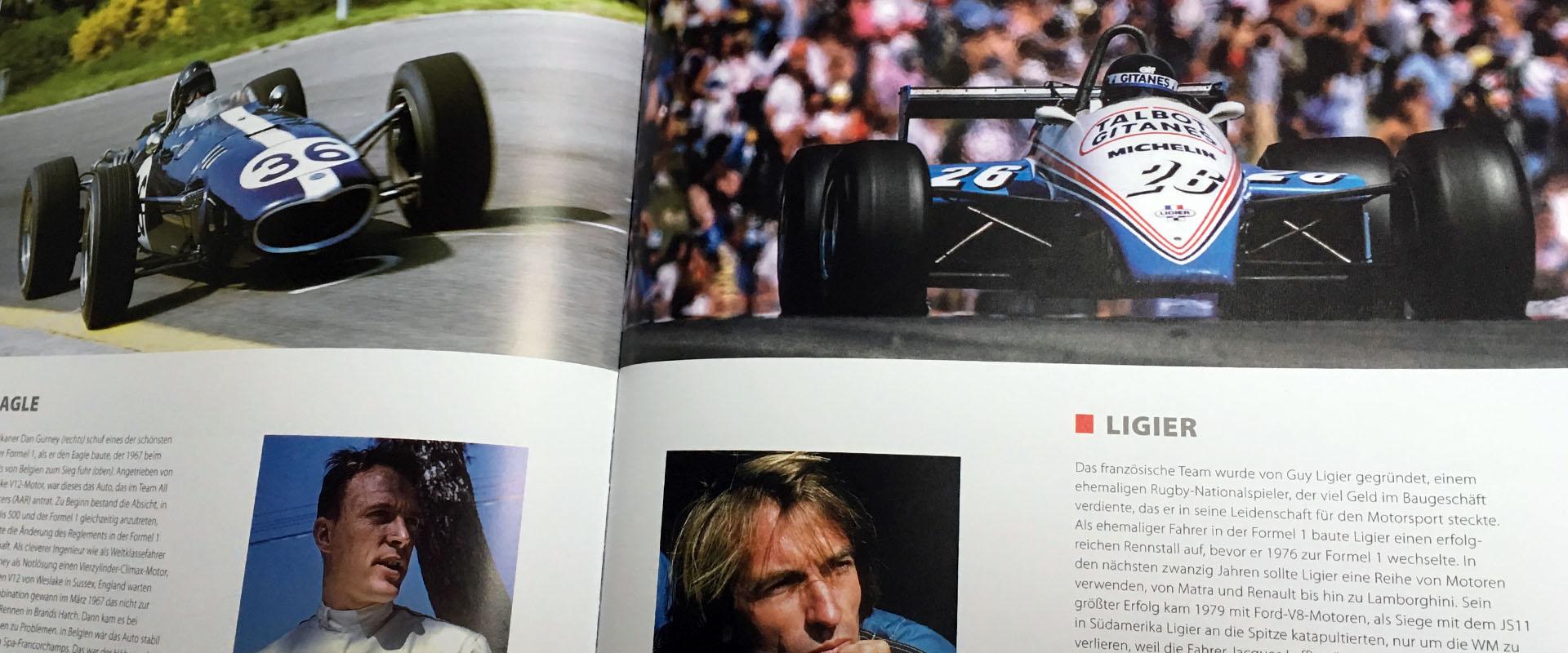 Buch – Formel 1 – Augenblicke für die Ewigkeit – autobuch.guru
