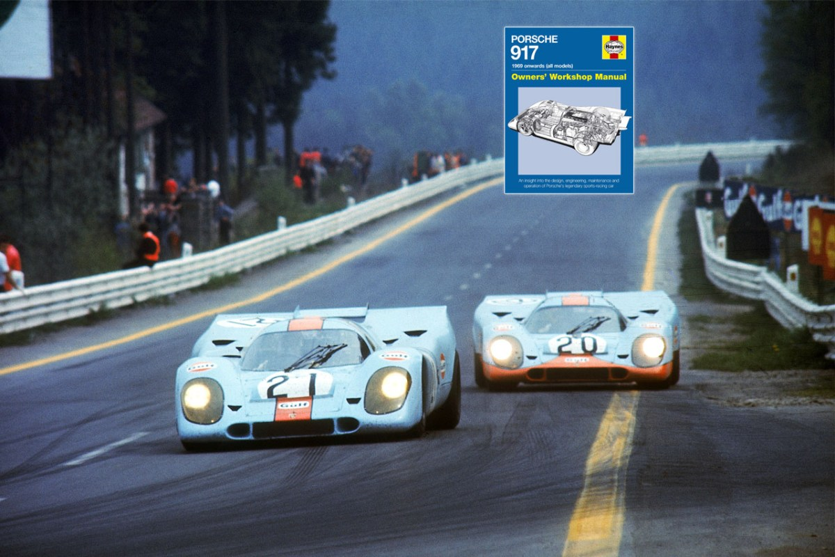 Buch – Porsche 917 – Owners' Workshop Manual