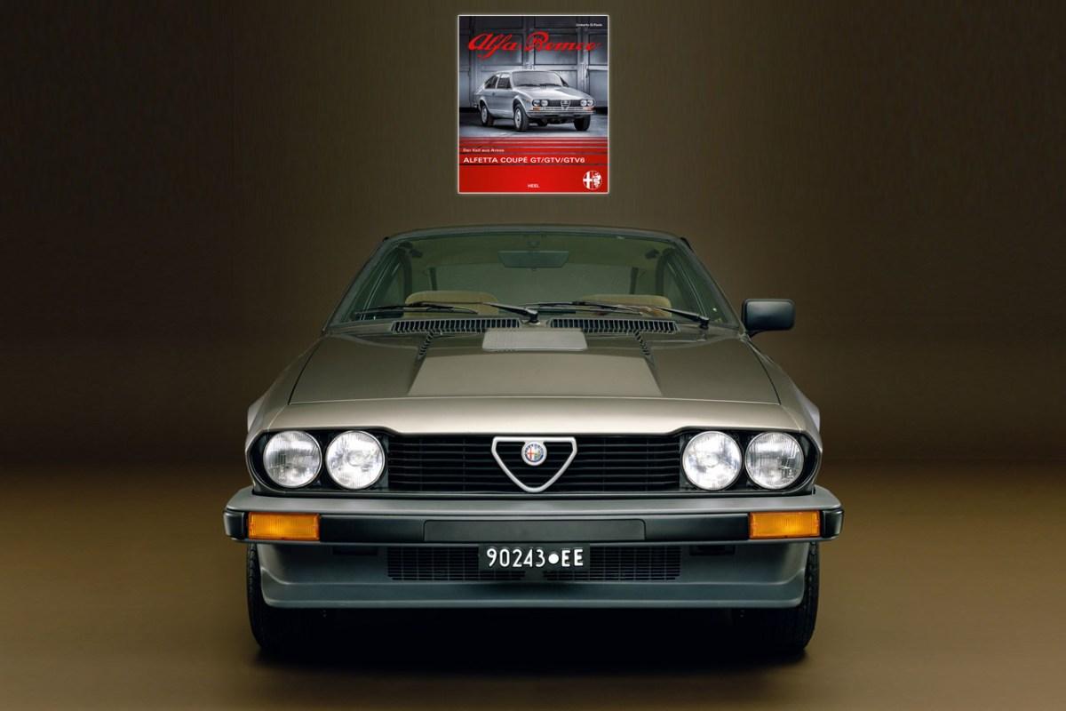 Buch – Alfa Romeo Alfetta Coupé GT/GTV/GTV6