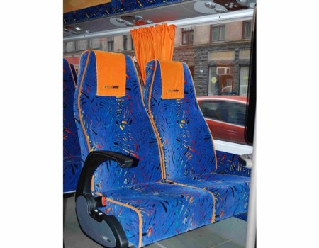 Autobusa noma, bus rent – Mercedes Benz SPRINTER interior