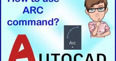 Arc command