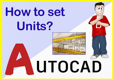 How to change unit in AutoCAD