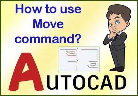 AutoCAD Move command