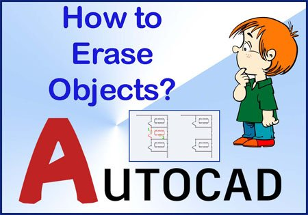 Erase command in AutoCAD