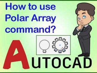 Polar Array AutoCAD
