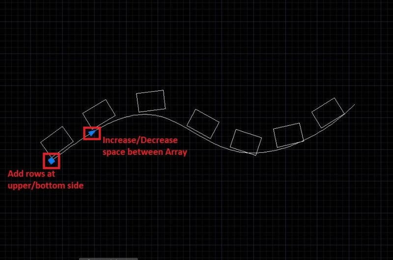 Path Array modify