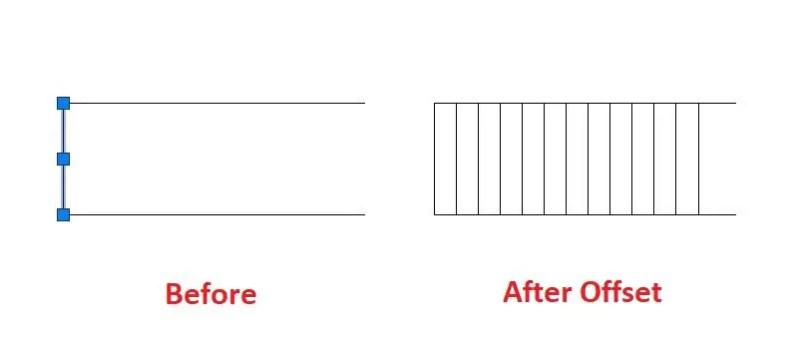 Line example-AutoCAD