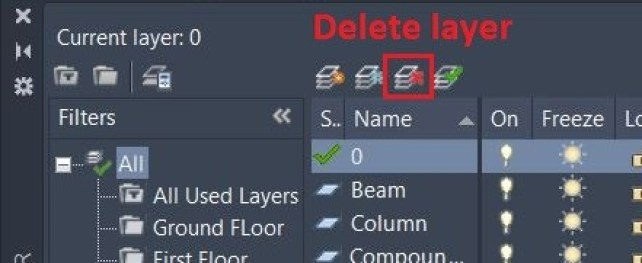 Layer Delete