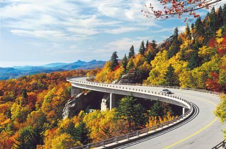 autocamper ferie Blue Ridge Parkway