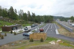 Autocamper stellpladser Norge