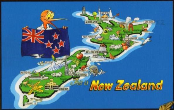 New-Zealand autocamper ferie