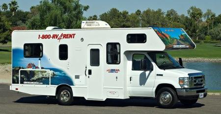 Tilbud leje af autocamper i USA og Canada 2015