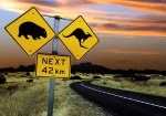 Trafik og færdselsregler i Australien