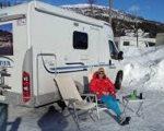 Vintercamping Danmark, Sverige og Norge