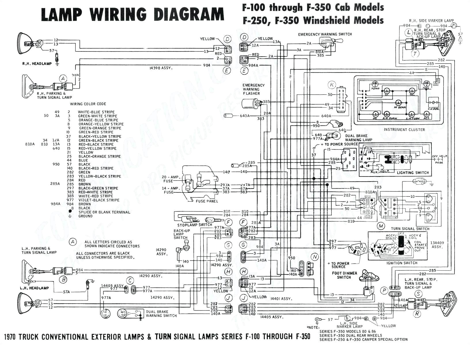 Toyota Pickup Tail Light Wiring Diagram