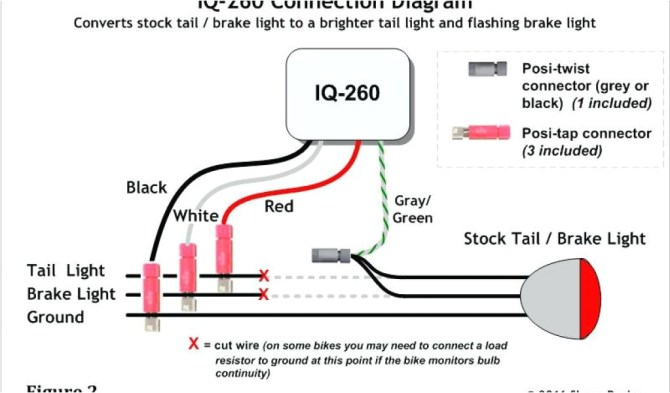 flush mount led tail light wiring diagram  cherry switches