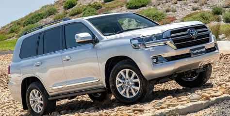2021 Toyota land cruiser Sahara horizon