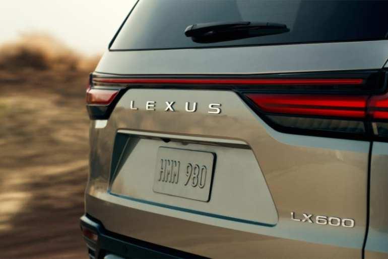 2022 Lexus LX600