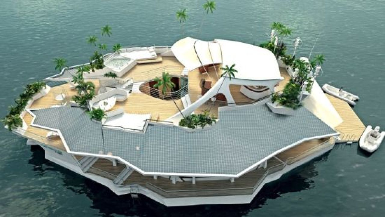 Eco Friendly Orsos Floating Island Promises Luxury Living On A Yacht Custom Orsos Island Orsos