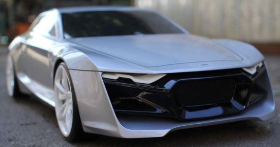 Designer Imagines Porsche Panamera Maserati Quattroporte Slayer In - Audi r9