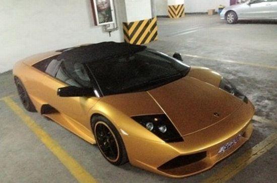 Gold Plated Lamborghini Murcielago 2