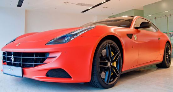 Ferrari's Special Edition FF for Czech customer 7