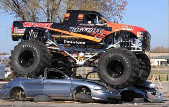 Odyssey Battery, Bigfoot electric monster truck 6