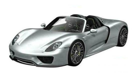 Porsche 918 Spyder leaks in China
