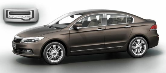 Qoros GQ3 the VW Jetta rival   1