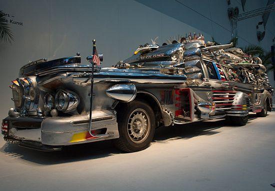 Antti Rahko's $1 million Finnjet limousine is all junk and scrap