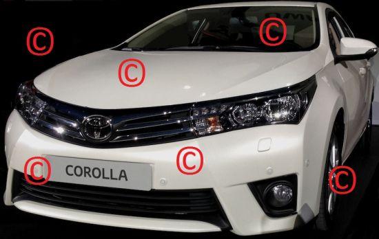 2014 Toyota Corolla image leak