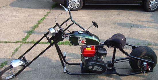 DIY motorbike