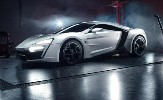 Lykan Hypersport is world's most expensive car