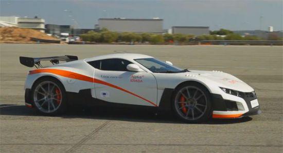1000hp VOLAR-e Racer