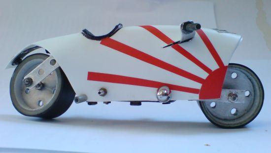 Scale souvenir motorbike models 11