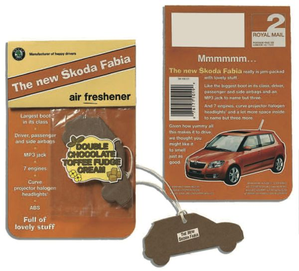Chocolate scented air fresheners