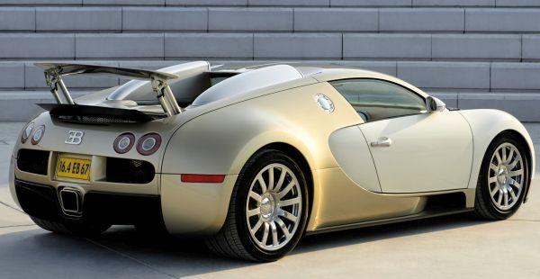 Bugatti Veyron gold edition