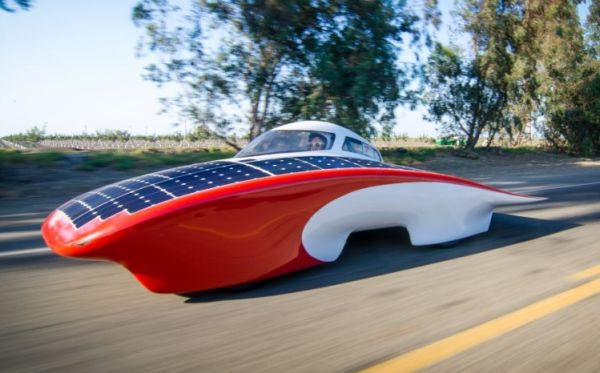 Stanford solar car