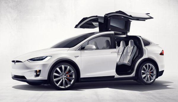 Tesla's Model X SUV 1