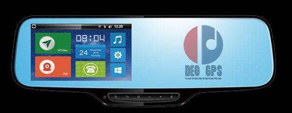 Smart Rear View Mirror - DGr7 - Deo GPS