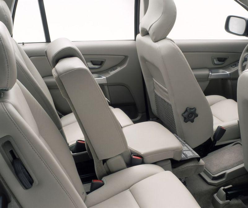Volvo XC90 flexible seating